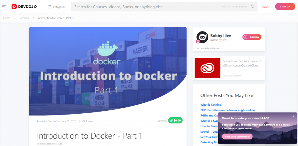 Introduction to Docker - Part 1