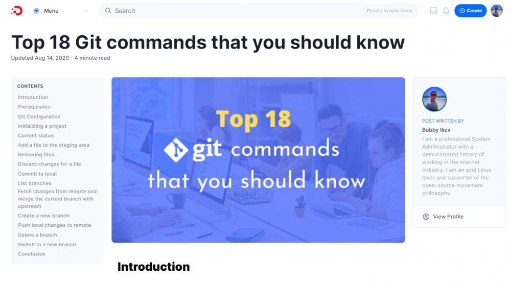 Top 18 Git commands that you should know