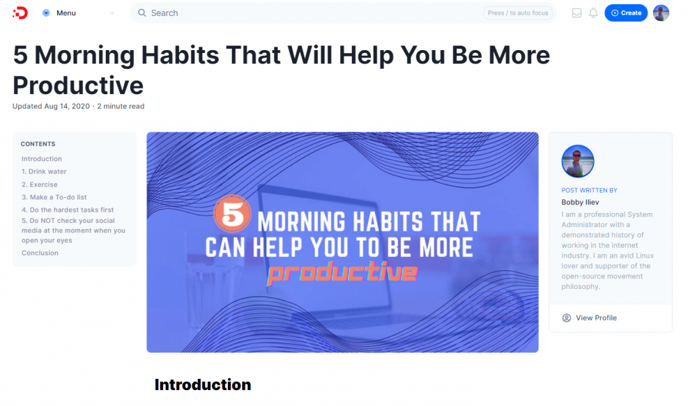 5 Morning Habits That Will Help You Be More Productive