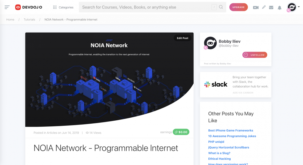 NOIA Network - Programmable Internet