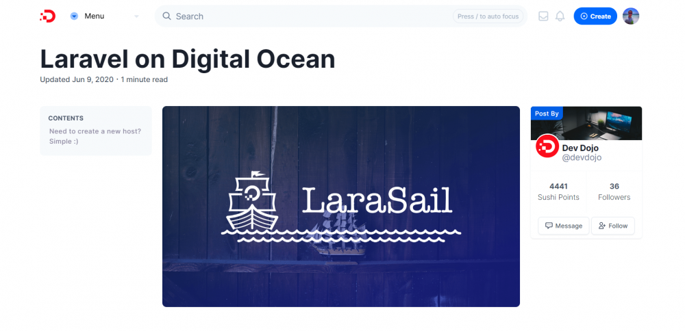 How to automate your DigitalOcean server setup for Laravel applications with LaraSail?