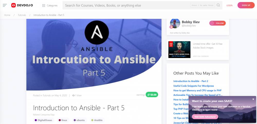 Introduction to Ansible - Part 5