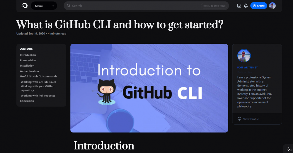 What is GitHub CLI and how to get started?